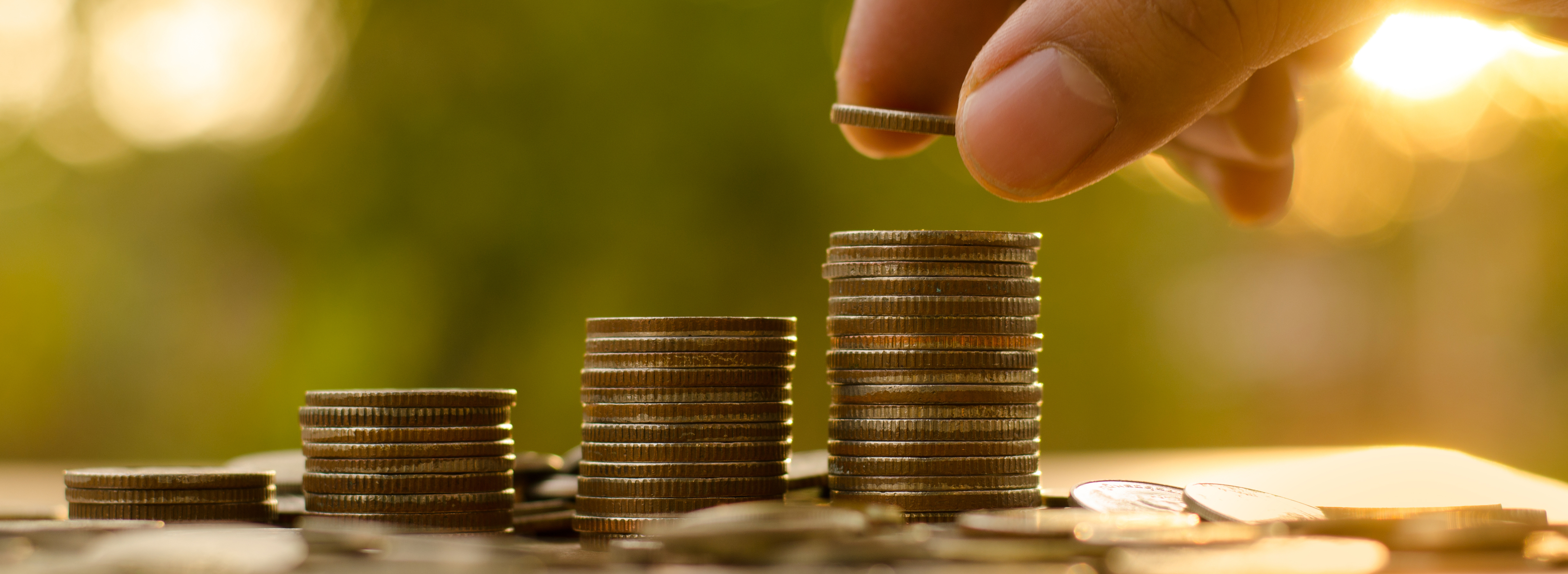 Stacking Coins for ACU Savings Account